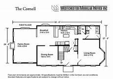 cornell by westchester modular homes two story floorplan
