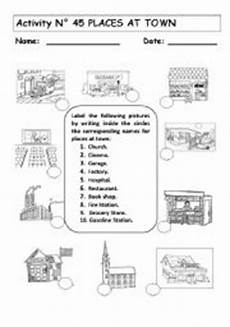 coloring pages places in town 18038 7 best images of grocery store map worksheet city map worksheet esl printable maze worksheets