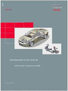online service manuals 1998 audi a8 electronic toll collection ssp 285 audi a8 running gear steering gear