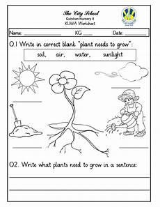 topic plants worksheets 13640 sr gulshan the city nursery ii november 2017