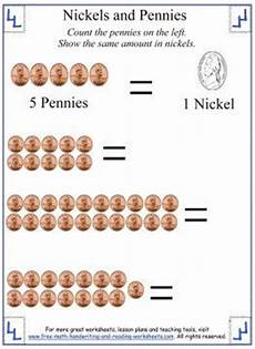 money worksheets pennies and nickels 2289 counting money for nickels and pennies counting money worksheets counting