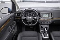 2015 Volkswagen Sharan Facelift Interior Dashboard