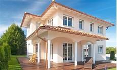 Haus Im Toskana Stil - haas mh poing 187 musterhaus haas fertighaus