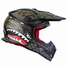 casque cross o neal 5 series warhawk black green 2019