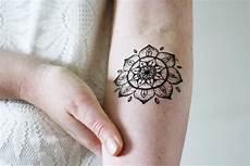 mandala temporary temporary tattoos by tattoorary
