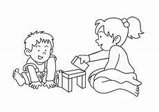 malvorlagen spielende kinder malvorlage spielen kostenlose ausmalbilder zum ausdrucken