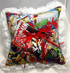 custom marvel avengers comic book prom or wedding ring bearer pillow on etsy 20 00 now that