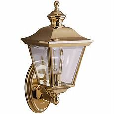 kichler polished brass 15 1 2 quot high outdoor wall light 52800 lsplus com