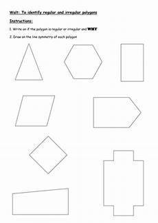 ks2 7 11 yrs finding line symmetry in polygons by gabbypeterson teaching resources tes