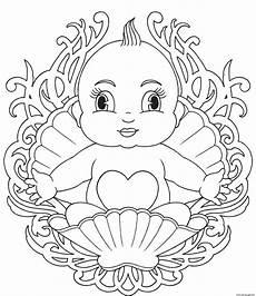 Malvorlagen Babys Baby Mandala Coloring Pages Printable