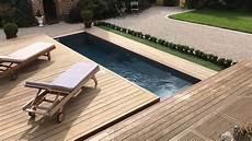 Exemple De Terrasse Terrasse Mobile Coulissante De Piscine Un Rolling Deck