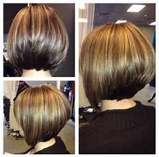2020 popular short inverted bob haircut back view