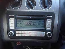 vw touran golf passat caddy stereo radio and cd player