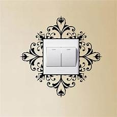 light switch wall art decal stickers modern home decoration accessories 4ws0132 in wall stickers