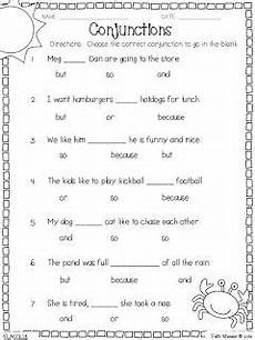 worksheets for targeting conjunctions slht early speech language therapy first