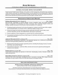simple front office manager hotel resume hotel front desk