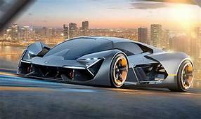 Lamborghinis New Fully Electric Hypercar Has Self Healing