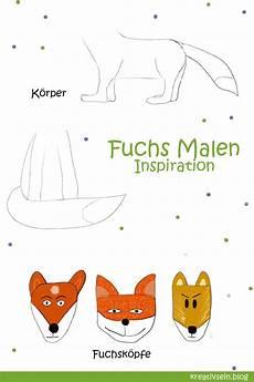 Malvorlage Fuchs Einfach Fuchs Malen Mit Vorlage Geht Es Ganz Einfach Fuchs