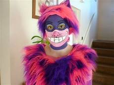 grinsekatze kostüm selber machen cheshire cat make up tutorial costumes cheshire cat