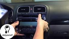 golf vi radio removal tutorial hd