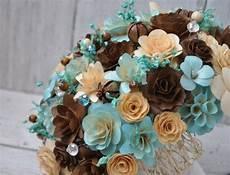 blush blue and brown wedding bouquet or centerpiece decoration ideas wedding flowers blue