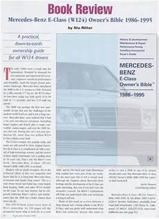 automotive service manuals 1986 mercedes benz e class parental controls reviews mercedes benz repair manual mercedes benz e class w124 owner s bible 1986 1995