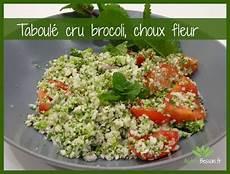 salade de choux fleur cru recette d un taboul 233 cru sans gluten salade brocoli