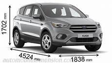 Dimension Ford Kuga 2017 Avec Longueur Largeur Et Hauteur