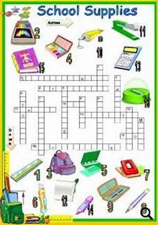 worksheets school supplies 18456 school supplies worksheet