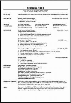 communications resume sle career center csuf