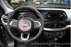 Fiat Tipo Steering At The 2015 Dubai Motor Show