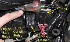 Electric Motorcycle Fuse Box Light by Replacement Flasher 171 Bareass Choppers Motorcycle Tech Pages