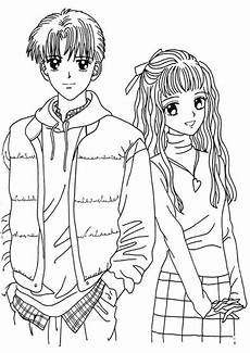 Ausmalbilder Anime Jungs Boy And Anime Coloring Page To Print New Coloring