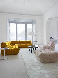 togo armchairs designer michel ducaroy ligne roset