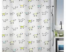 Duschvorhang Bestellen - duschvorhang spirella doggi kiwi 180x200 cm kaufen bei