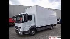 Mercedes Atego 816 Euro5 Box W Lift 10 2010 L505837 White