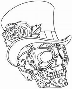 Kostenlose Malvorlagen Totenkopf Pin Vera Auf Blumen Usw Sticken Malvorlagen