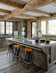 cuisine style bar le tabouret de bar industriel apporte une touche d 233 co dans