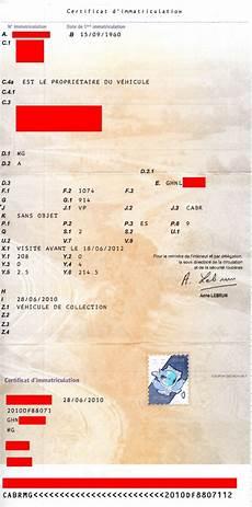 carte grise aux 2 noms mg a carte grise mga 281129 album forum mg