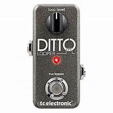 Tc Electronic Ditto Looper Guitar Effects Pedal Guitar