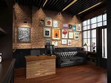 Photo Barbershop Interior Bostoncap Barber 3 Desain