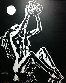 tableau visage noir et blanc tableau visage noir et blanc tableau peinture moderne