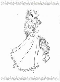 Malvorlagen Rapunzel Easy Pin By Hertrf On Best Friend Disney Coloring