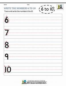 write numbers worksheets kindergarten 21268 kindergarten printable worksheets writing numbers to 10