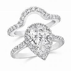 pear shape 2 50 carat 14k wedding ring