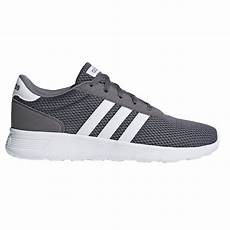 adidas lite racer mens sneakers grey four white