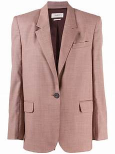 etoile marant pink cotton blazer modesens