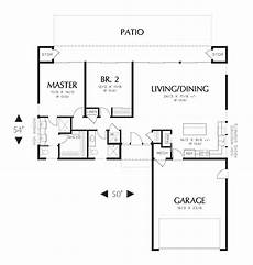 small l shaped house plans small modern l shaped 2 bedroom ranch house plan