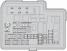 Toyota Prius C From 2011 Fuse Box Diagram Auto Genius