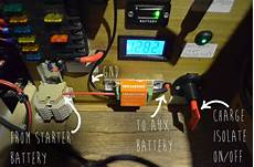 cervan 12v electrical system installation and wiring